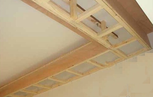 首页 学装修 木工 木龙骨吊顶施工工艺  安装吊顶需要安装龙骨,下面
